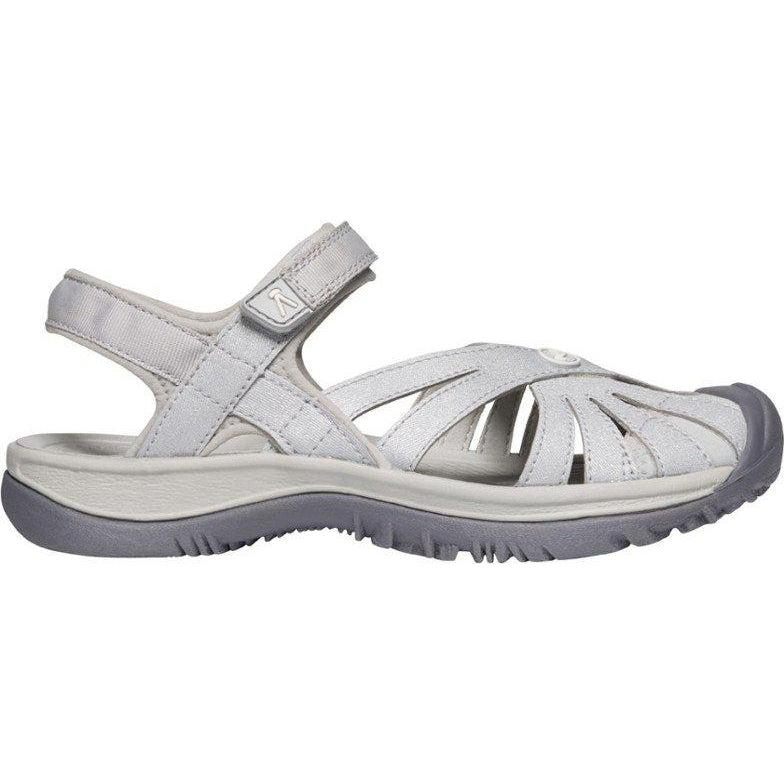 Keen Women's Rose Sandal - Light Gray/Silver / 10