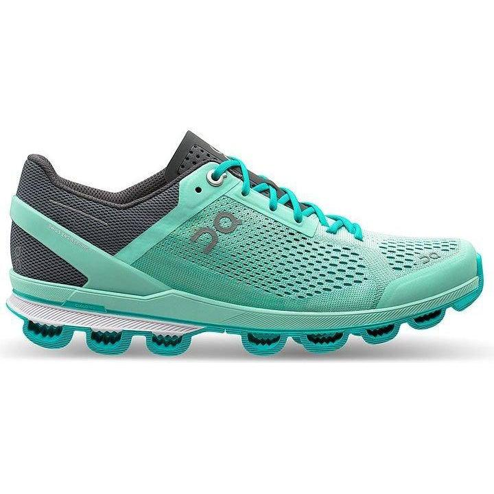 ON Running Women's Cloudsurfer Running Shoes - Fountain/Azure / 7