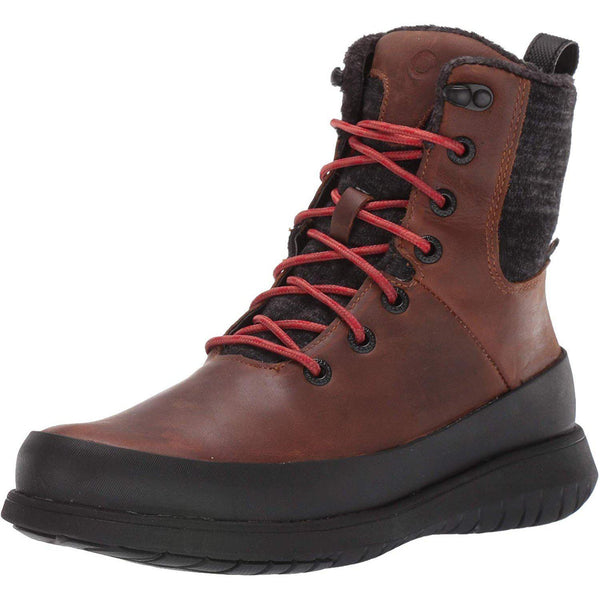 BOGS Women's Freedom Lace Waterproof Insulated Winter Snow Boot - Cognac / 7.5