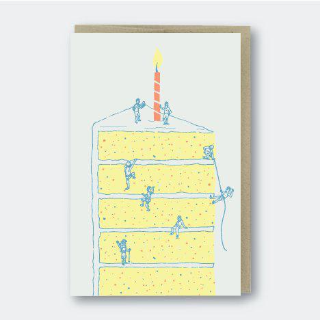 Pike Street Press Climbing Cake Card - Default Title