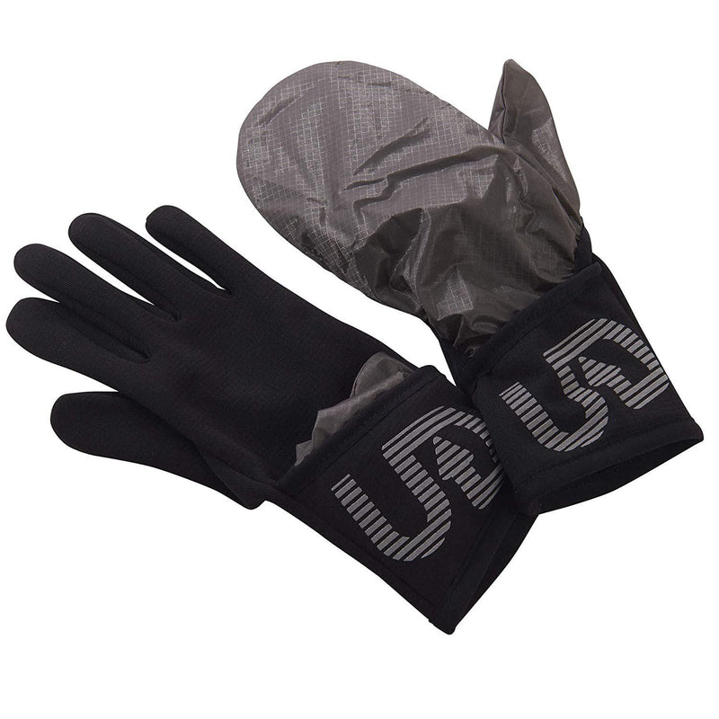 Ultimate Direction Ultra Flip Convertible Cold Weather Running Glove - Onyx / Medium
