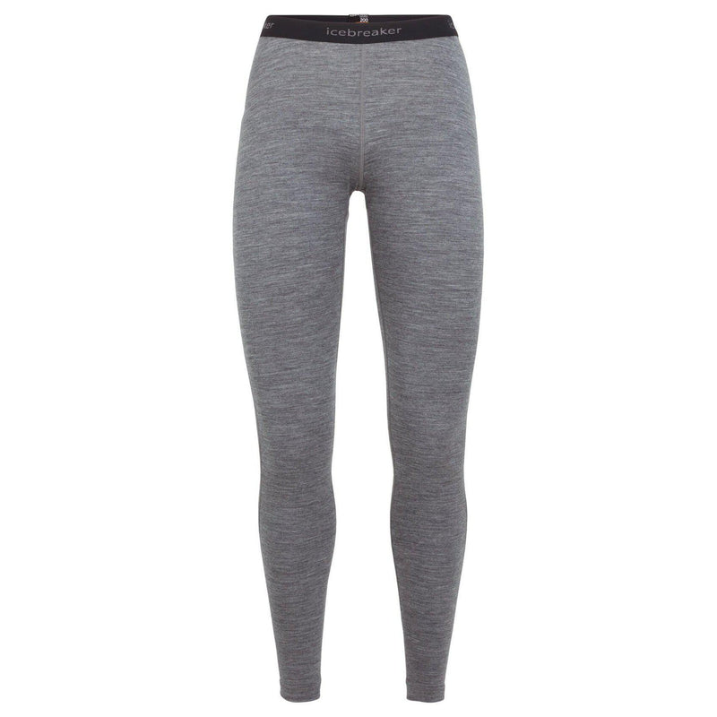 Icebreaker Women's 200 Oasis Leggings - Gritstone Heather / WM