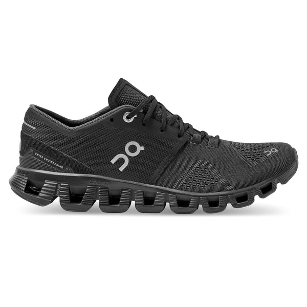 ON Running Men's Cloud X Running Shoes - Black/Asphalt / 10