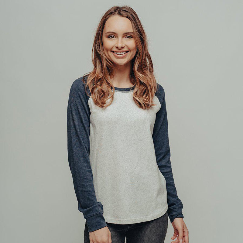 The Normal Brand Women's Puremeso Retro Raglan Shirt - [variant_title]