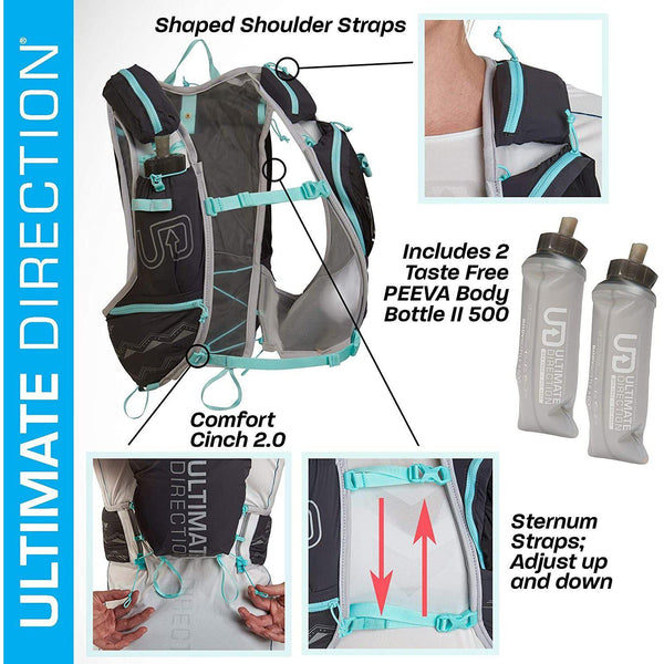 Ultimate Direction Womens Adventure Vesta Signature Series 5.0 Trail Running Vest - [variant_title]