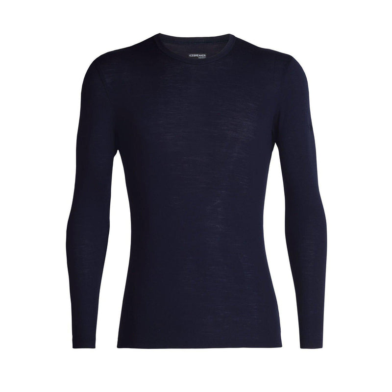 Icebreaker Men's 150 Zone LS Crewe Shirt - Midnight Navy / L