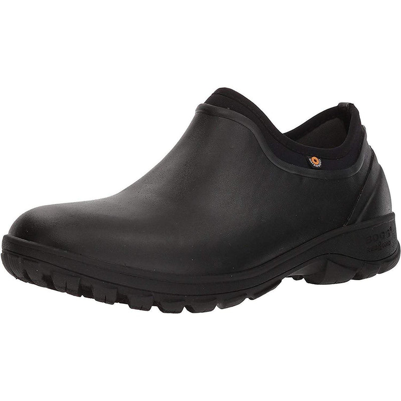 BOGS Men's SAUVIE Slip ON Rain Boot - Black / 10