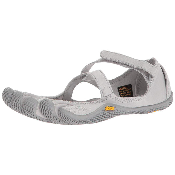 Vibram Five Fingers Women's V-Soul Fitness and Cross Training Yoga Shoe - Silver / 6.5-7