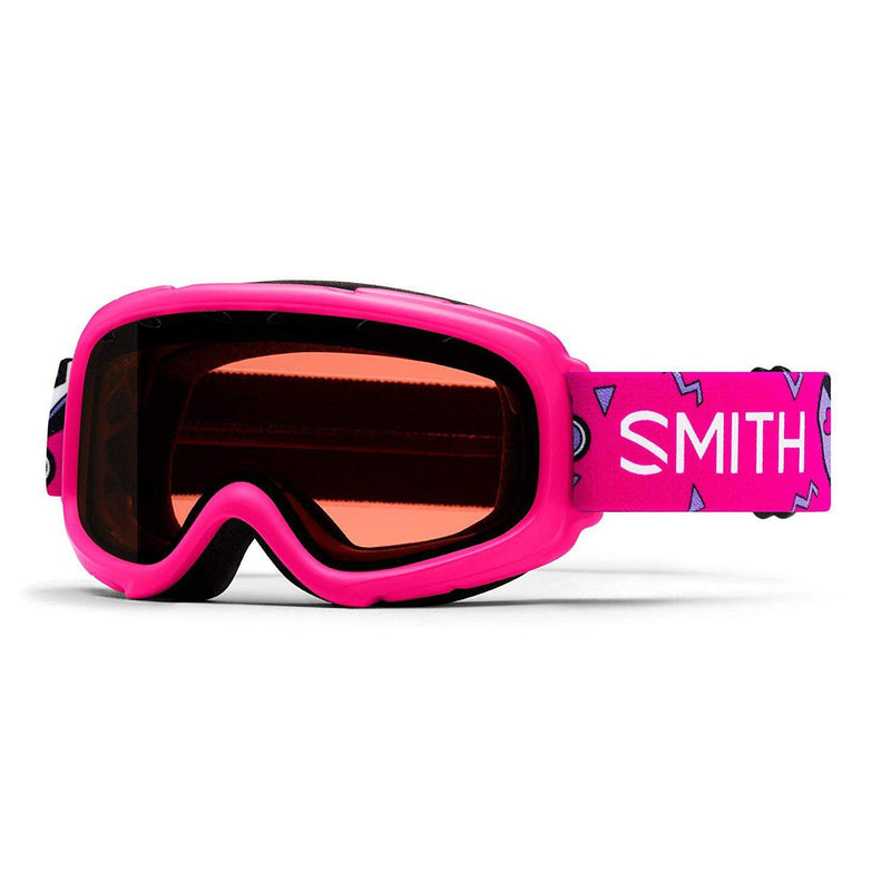 Smith Optics Unisex Gambler Goggle (Youth Fit) - Pink Skates