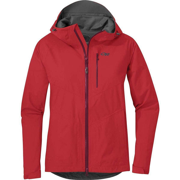 Outdoor Research Women's Aspire Jacket - Teaberry / X-Large