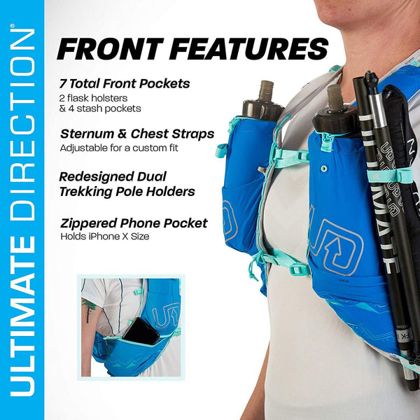 Ultimate Direction Womens Ultra Vesta Signature Series 5.0 Trail Running Vest - [variant_title]