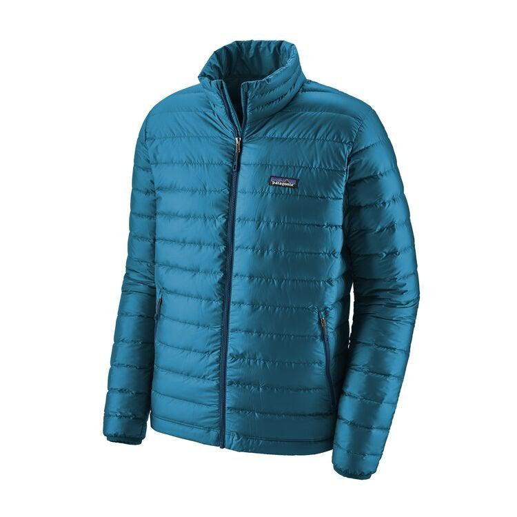 Patagonia Men's Down Sweater Jacket - Extra Large / Balkan Blue