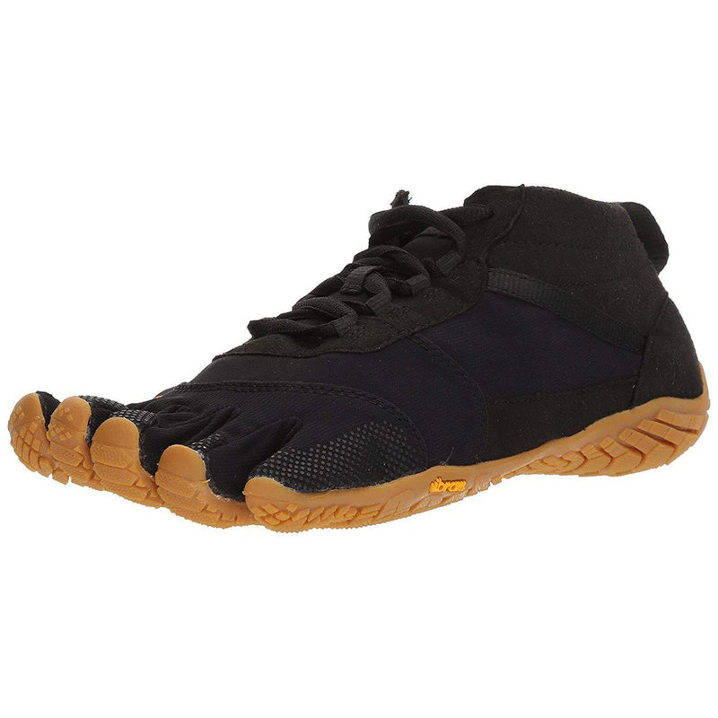 Vibram Men's V-Trek Black/Gum Hiking Shoe - [variant_title]