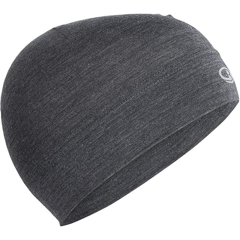 Icebreaker Adult Chase Beanie - Jet Heather / OS