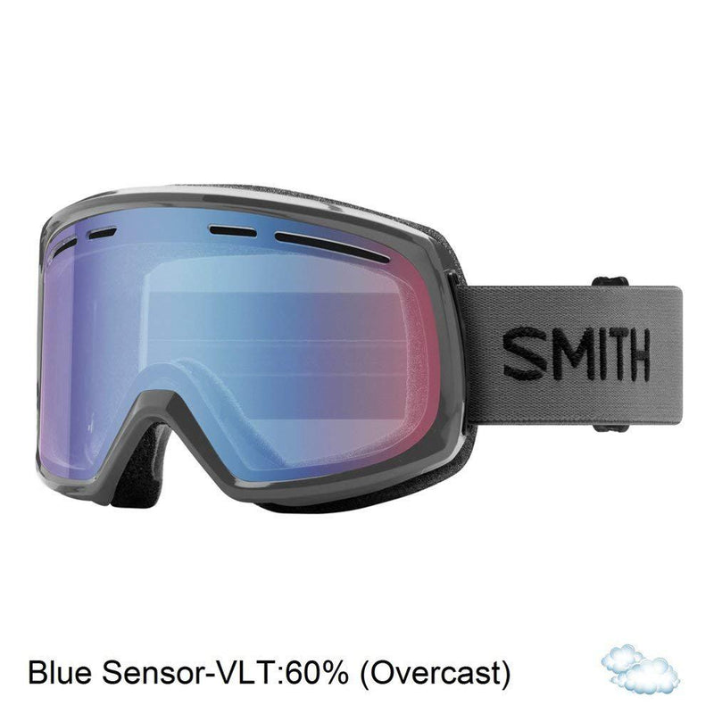 Smith Optics Smith Range Snow Goggles - Medium Fit / Black Blue Sensor Mirror