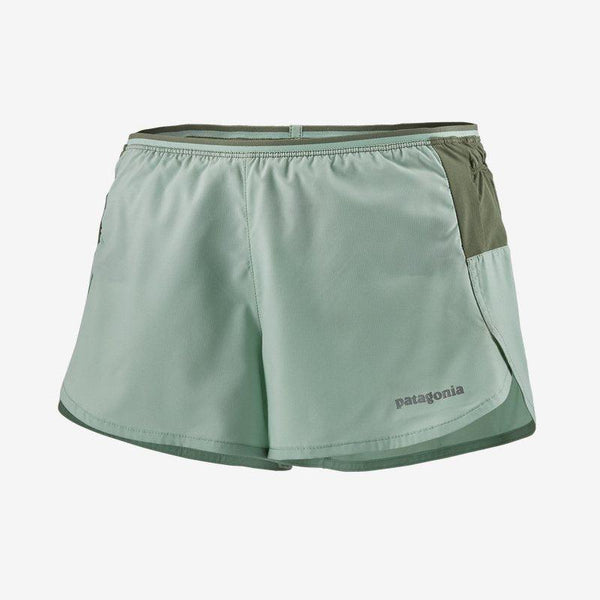 "Patagonia Women's Strider Pro Shorts 3"" - Gypsum Green / Large"