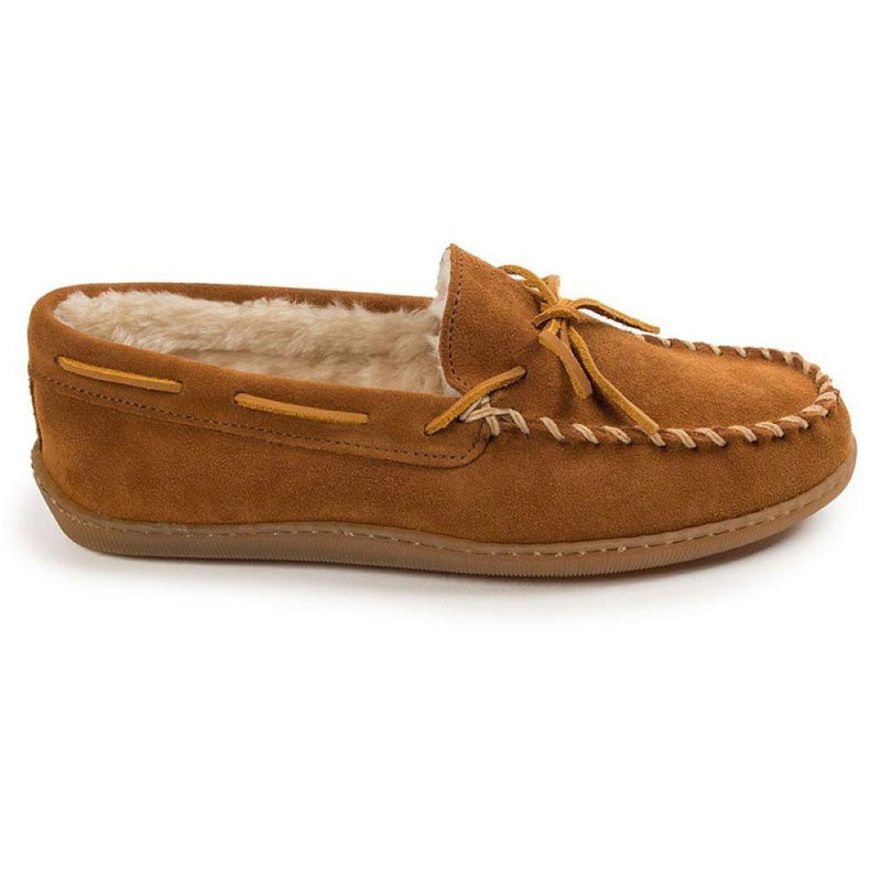 Minnetonka Men's Pile Lined Hardsole Slipper - [variant_title]