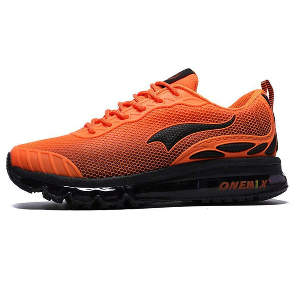 ONEMIX Men's Cushion Running Shoe - Orange / 10