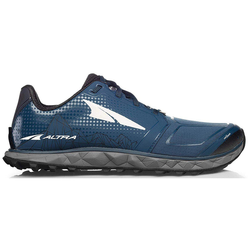 Altra Men's Superior 4 Trail Running Shoe - Blue/Gray / 10