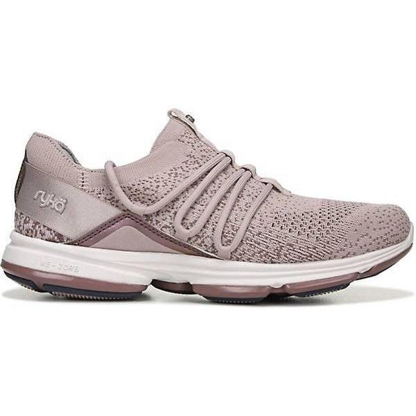 Ryka Women's Diffuse Walking Shoes - Mauve Knit / 10