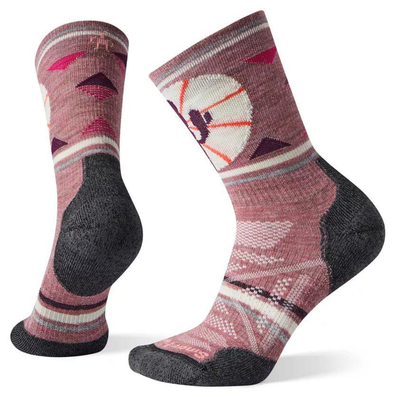 Smartwool Women's PhD Outdoor Light Pattern Crew Sock - [variant_title]