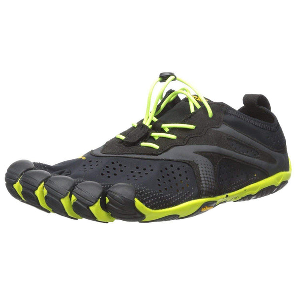 Vibram Men's V Running Shoe - Black/Yellow / 10.5-11