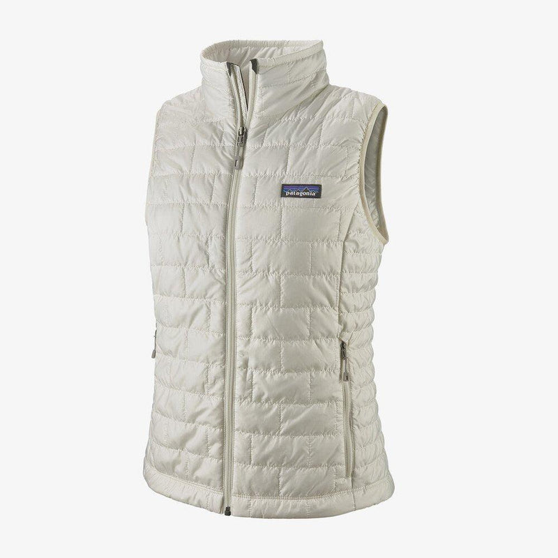 Patagonia Women's Nano Puff Vest - Birch White / Extra Large