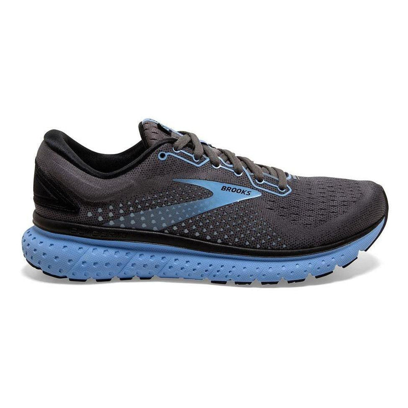 Brooks Women's Glycerin 18 Running Shoe - Black/Ebony/Cornflower / 10