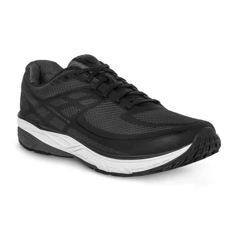 Topo Athletic Mens Ultrafly 2 Running Shoe - Grey/Black / 10