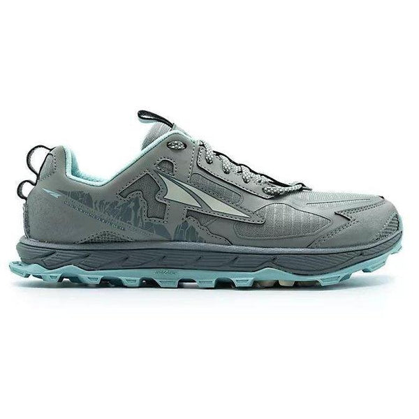 Altra Women's Lone Peak 4.5 - Natural Grey/Turquoise / 10