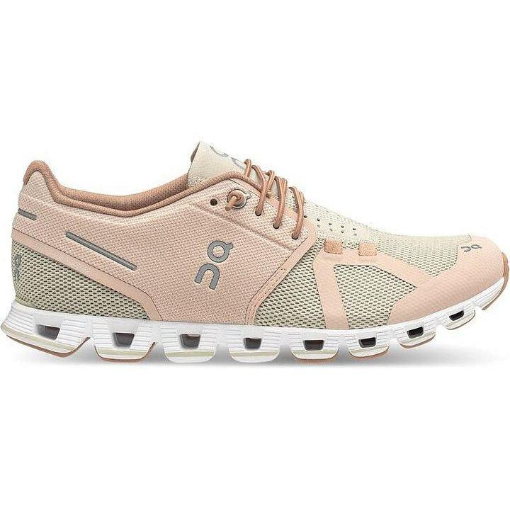 ON Running Women's Cloud Running Shoes - Rose/Sand / 10