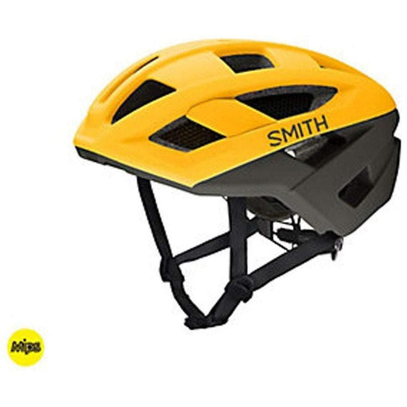 Smith Optics Route MIPS Men's MTB Cycling Helmet - Matte Hornet/Gravy / Small