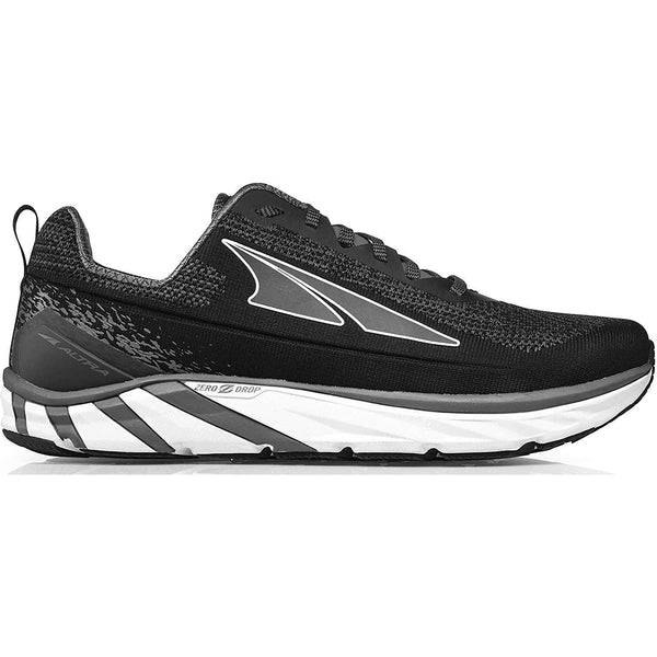Altra Men's Torin 4 Plush Road Running Shoe - Black/Grey / 10