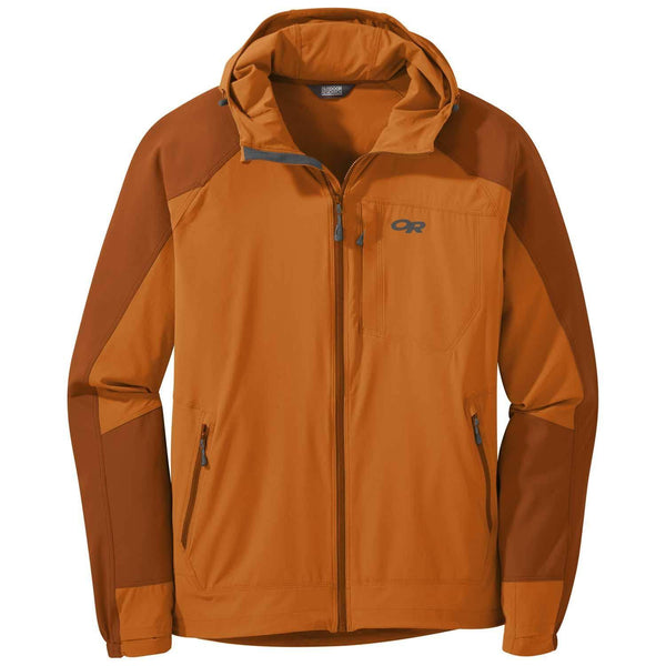 Outdoor Research Men's Ferrosi Hooded Jacket - Copper/Umber / Large