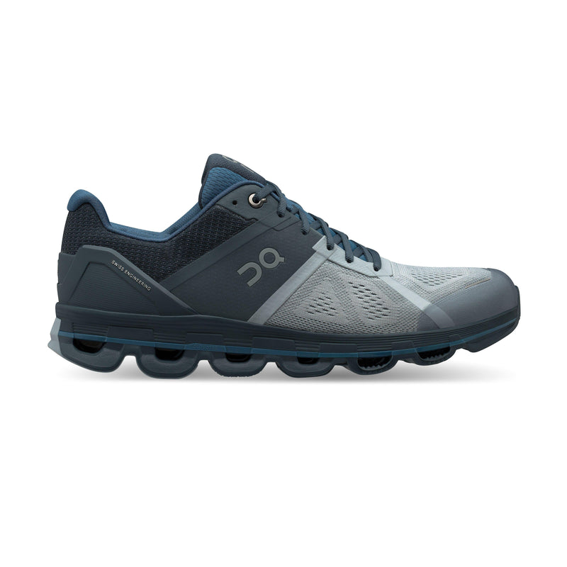 ON Running Men's Cloudace Running Shoes - Mist/Stone / 9