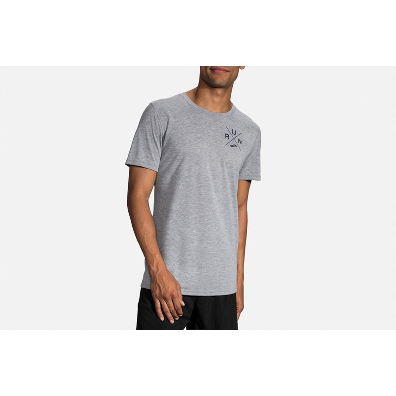 Brooks Men's Distance Graphic Tee - [variant_title]