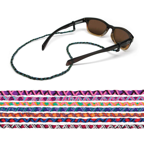 "Croakies World Cord Eyewear Retainer Mayan Guatemalan Spec Ends 24"" - [variant_title]"