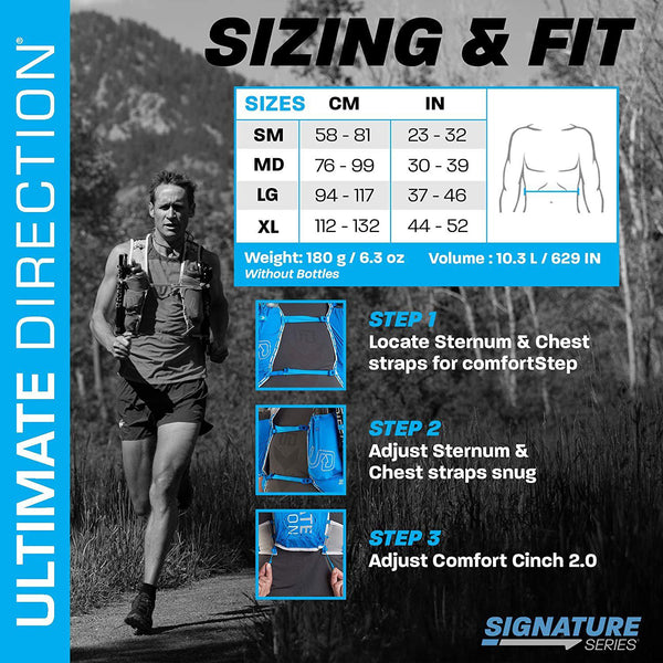 Ultimate Direction Mens Ultra Vest Signature Series 5.0 for Trail Running - [variant_title]