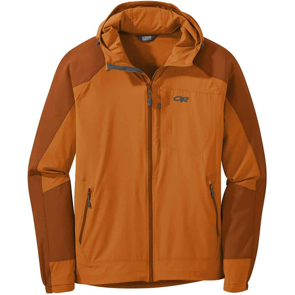 Outdoor Research Men's Ferrosi Hooded Jacket - Copper/Umber / X-Large