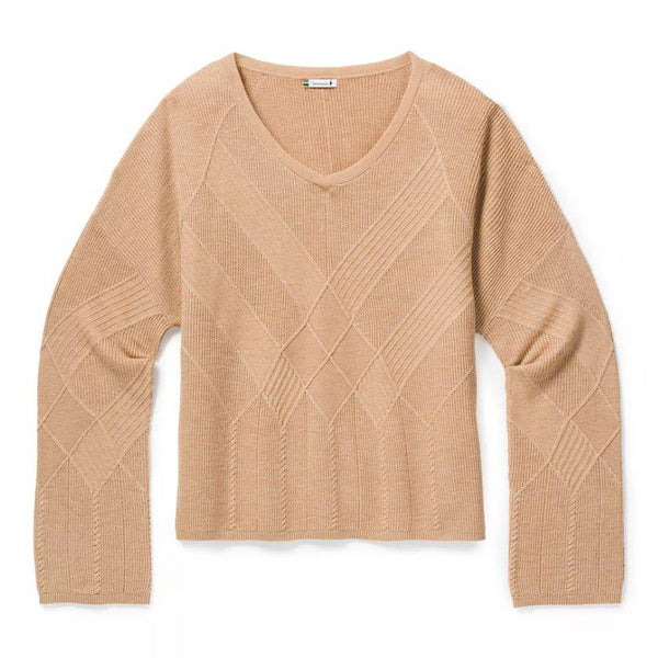 Smartwool Women's Shadow Pine Cable V-Neck Sweater - [variant_title]