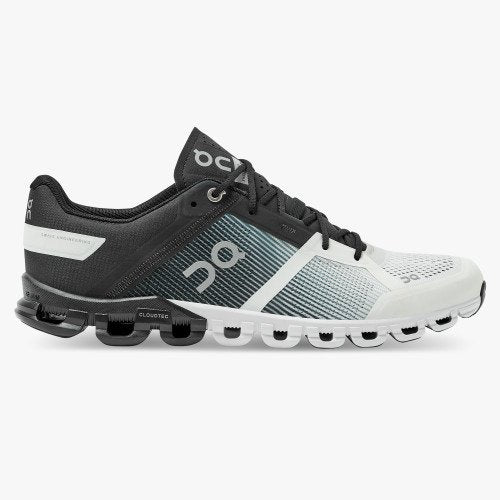 ON Running Men's Cloudflow Running Shoes - Black/White (Gen. 3) / 10