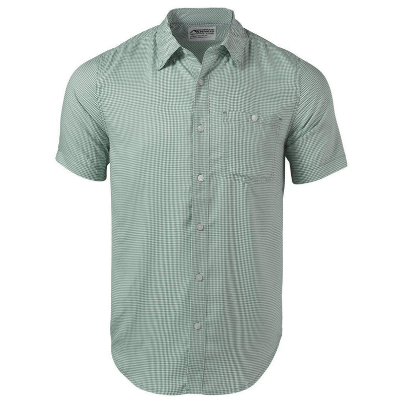 Mountain Khaki Men's Passport EC Short Sleeve Shirt - Oregano / LARGE