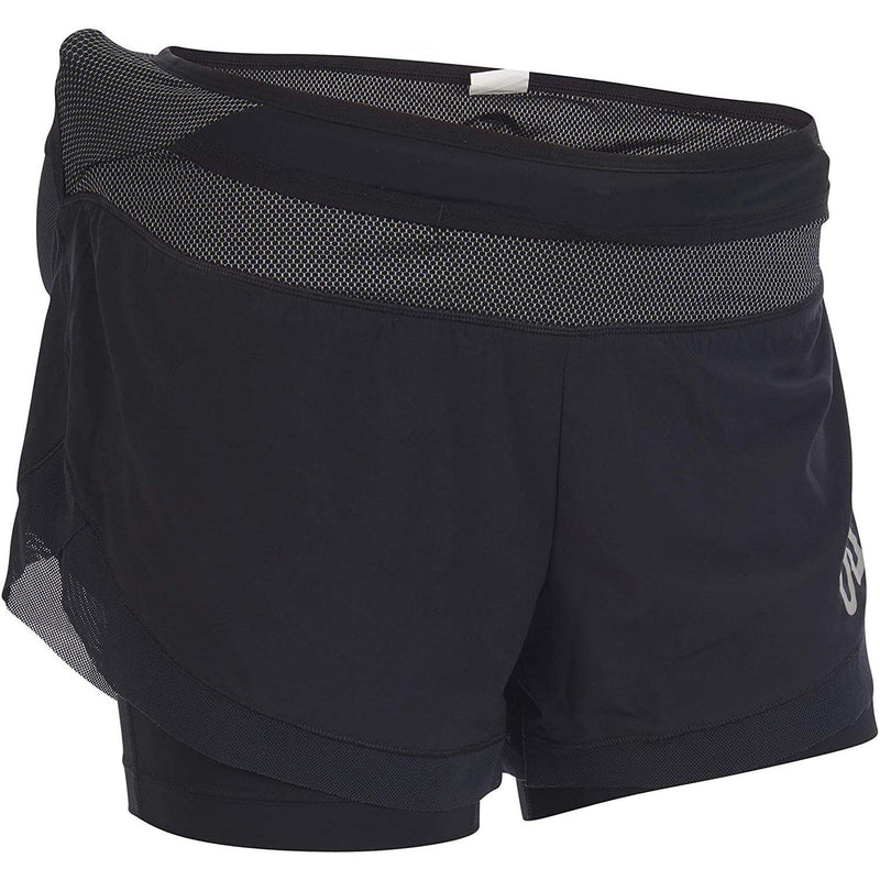 Ultimate Direction Womens Hydro Short Running Shorts - Onyx / Medium