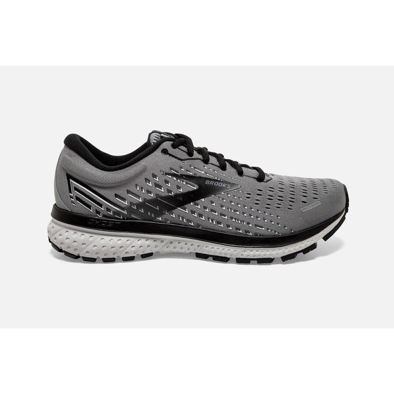 Brooks Men's Ghost 13 Running Shoe - Primer Gray/Pearl/Black / 10 Wide
