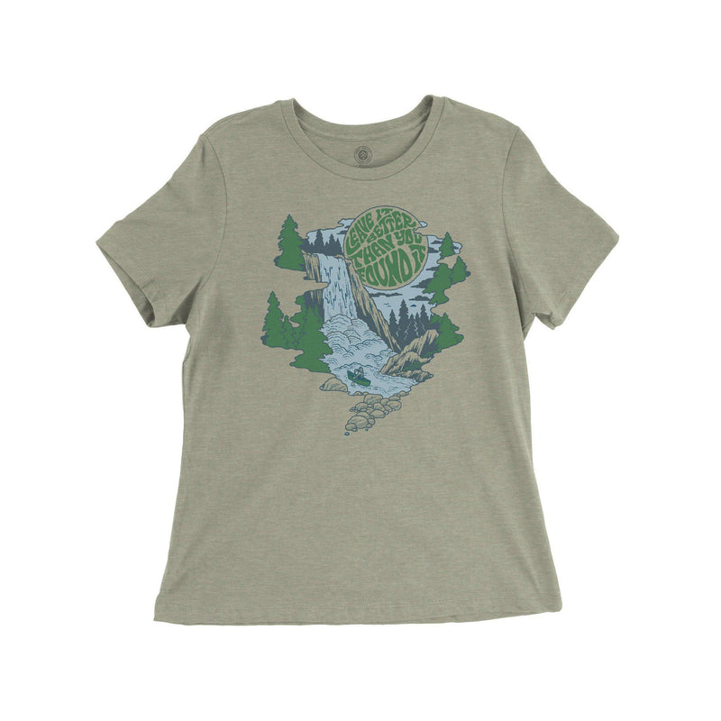 Parks Project Women's Leave it Better River Tee - Heather / Mediium