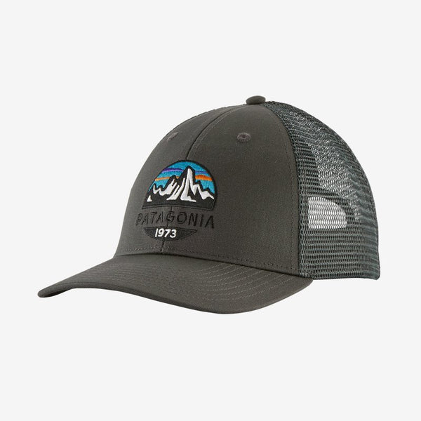 Patagonia Fitz Roy Scope LoPro Trucker Hat - Forge Grey / One Size