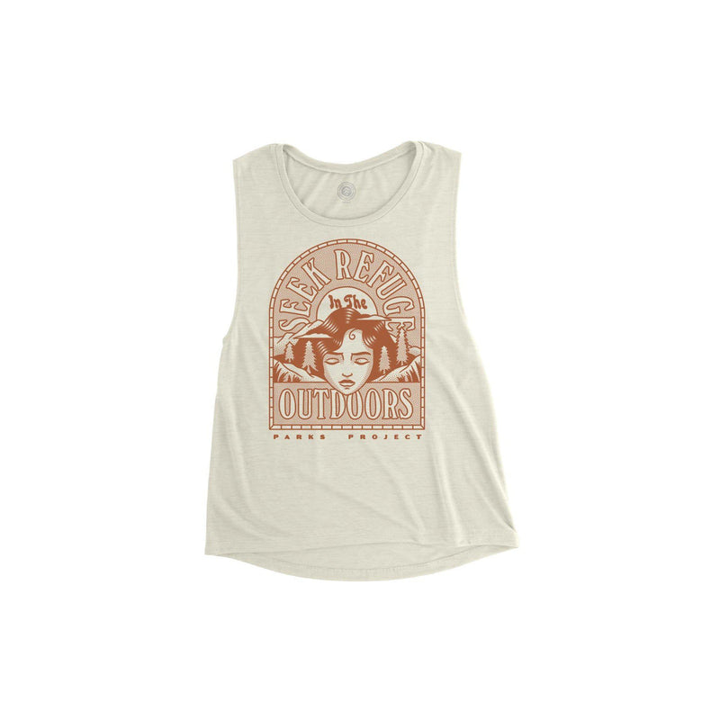 Parks Project Seek Refuge Mother Nature Sleeveless Tank