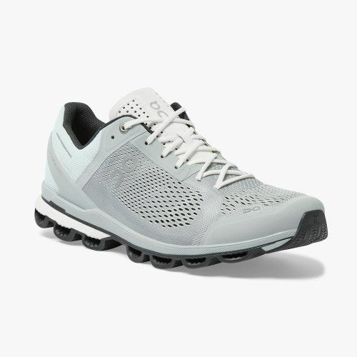 ON Running Men's Cloudsurfer Running Shoes - Glacier/Black / 11.5