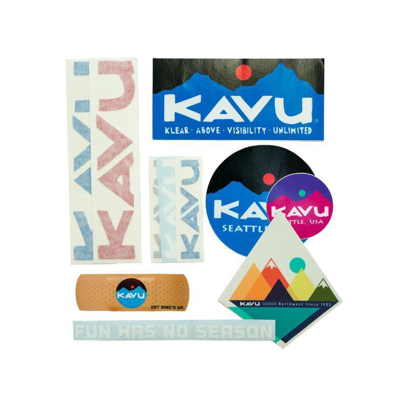 Kavu Go Have Some Fun Sticker Pack - Default Title