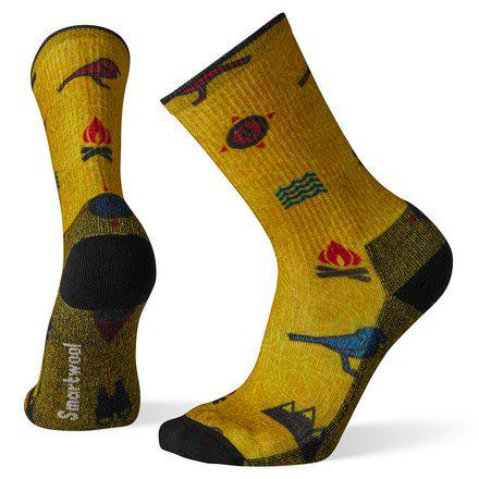 Smartwool Hike Light Camp Print Crew Sock - [variant_title]